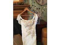 wedding dress size 16uk Ronald joyce
