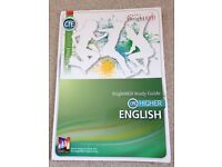 BrightRED Study Guide for CfE Higher English SQA