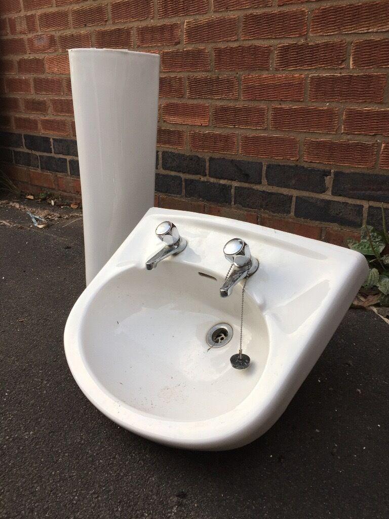 Bathroom Sinks Gumtree pedestal sink for sale (used) | in coventry, west midlands | gumtree