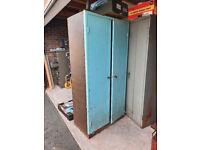 Heavy Duty 2 Door 3 Shelf Storage Cabinet
