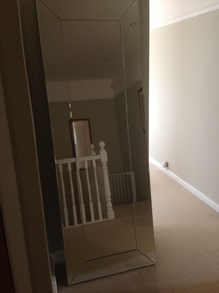 Laura Ashley Gatsby Floor Mirror