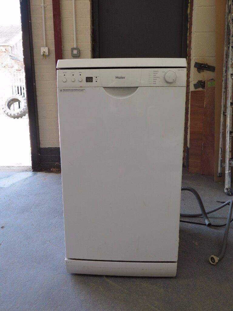 HAIER Slim Line Free Standing Dishwasher DW9-TFE3-U