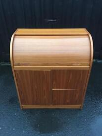 Teak Writing Bureau ( Can Deliver )