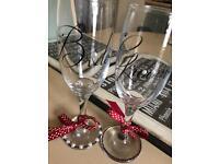 Decorated glasses