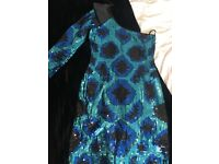 Lipsy Sequenced Dress Size 8-10