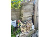 Concrete Slabs, Bricks and Cement