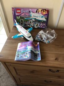 Lego friends plane complete with figures