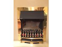 Dimplex Wynford Brass Optiflame Fire WYN20BR