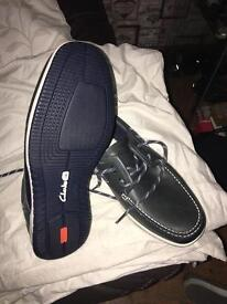 Clarks boat shoes