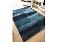Large blue rug for sale
