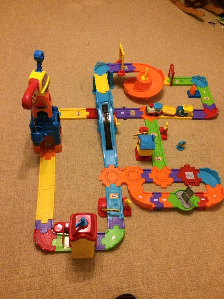 Toot Toot Train Set and construction set