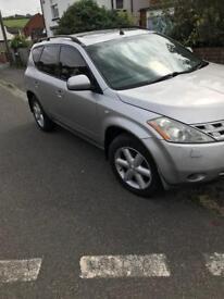 Nissan Murano lpg 3.5 litre **QUICK SALE**