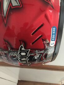 New helmet size L