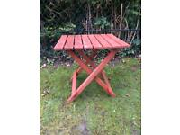 Patio Side Table Garden Furniture Drinks Table