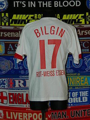 5/5 Rot-Weiss Essen adults L 2004 #17 Bilgin signed football shirt jersey trikot image