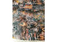 Four Rolls of Graffiti Wallpaper New