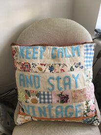 Handmade Cushion Shabby Chic