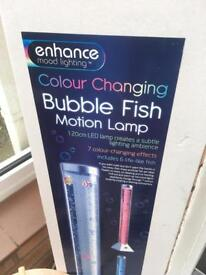 Bubble fish sensory light BNIB