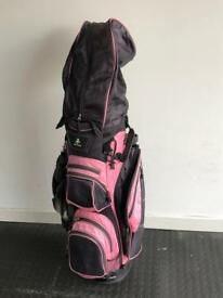 Ladies golf bag and some clubs