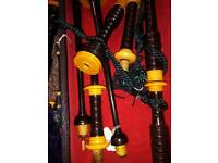 Hendesons vintage bag pipes
