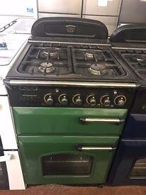 55CM GREEN LEISURE GAS COOKER