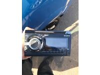 Sony double din car stereo Bluetooth