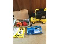 Air compressor and tool kit please read details