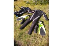 Wet Suit, buoyancy best & scuba apparatus