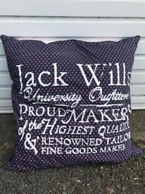 Jack wills large cushion