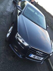 Audi A5 moonlight blue, nav, b&o, heated seats