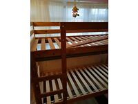 A Used Bunk bed frame to sell