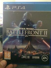 Star Wars battlefront 2. PS4
