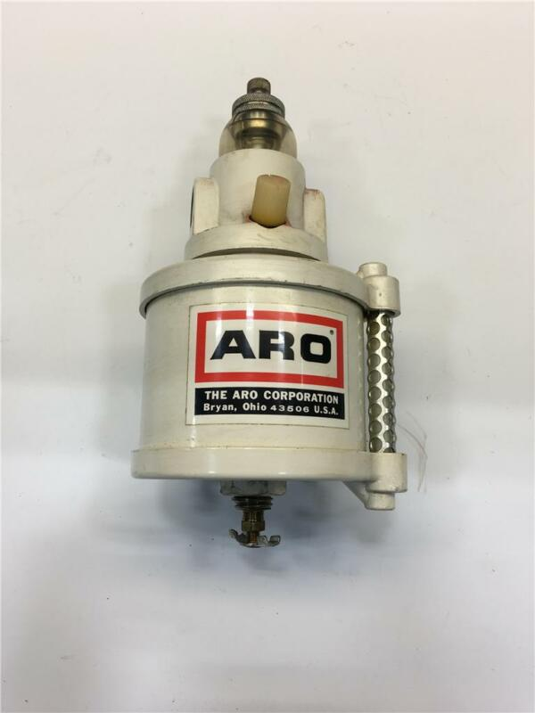 Vintage ARO Pneumatic Air Line Tool Adjustable Oil Water Separator 26241 29525Z