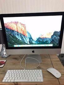 Apple iMac 2015 model 21.5 inch i5 2.7ghz 8gb ram used once