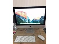 Apple iMac 2015 model 21.5 inch i5 2.7ghz 8gb ram used once