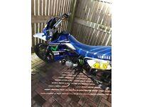 Yamaha Dtr 125cc blue