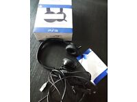 PlayStation 3 PS3 CP-01 Stereo Gaming Headset 4 Gamers In Black