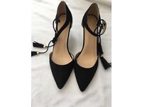 Gorgeous black heels. Oasis, size 7. Brand new, still with labels in, never been worn.