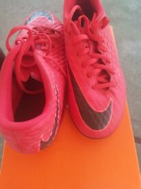Nike Red Football Boots Size 5.5