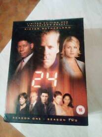 24 SEASONS ONE AND TWO