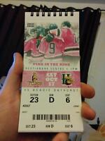 SINGLE Mooseheads ticket, Lower Bowl (Pink in the Rink)