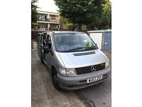 Mercedes vito camper 7 seaters wheelchair etc..