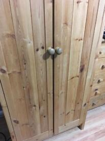 Wardrobes Solid Scandinavian Pine (x2available)