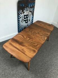 Ercol coffee table - restored