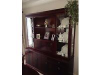 A SOLID MAHOGANY CABINET FOR SALE