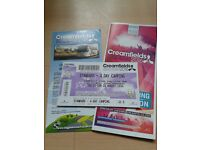 Creamfields ticket 2016 4 day standard camping £190 ovno