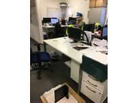 FREE! 30 Office Desks (small, medium and large) available for collection