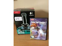 Logitech Attack 3 Joystick with Combat Flight Simulator 3 Battle for Europe PC Game