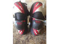 Motocross knee braces, EVS vision, Thor force