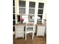 Dressing table + Bedside chest Free Delivery Ldn🇬🇧shabby chic